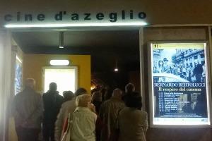 Ingresso cinema d'Azeglio, 23 ottobre. ar