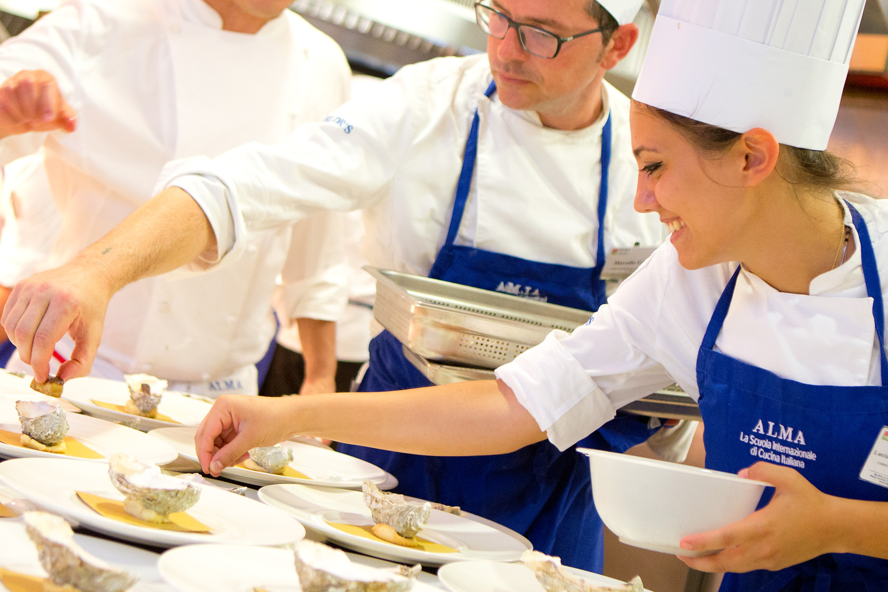 Gualtiero marchesi un compositore in cucina agli chef - Scuola di cucina alma ...