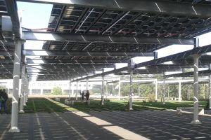 piazza fotovoltaica
