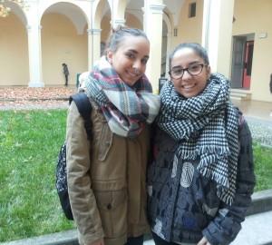 Celia e Beatriz- Erasmus