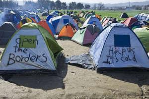 Idomeni profughi