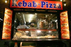 kebab-pizzeria d'asporto