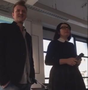 Luca Torresan e Francesca Negri