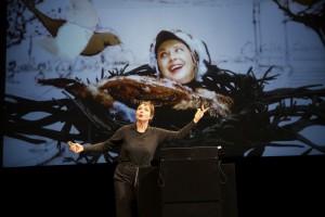 Isabella durante il suo spettacolo a Vancouver,  ©Mario del Curto