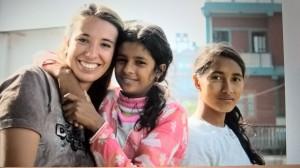 Io, Susmita (11 anni) e Jamuna (14 anni)