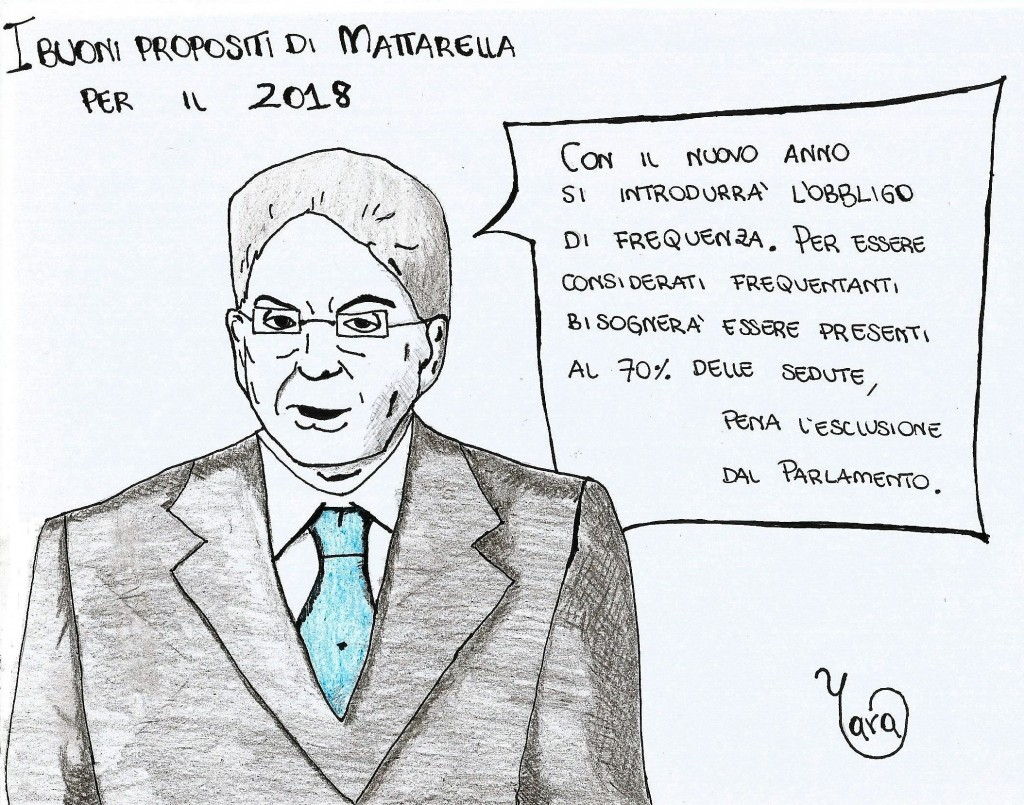 Vignetta Mattarella