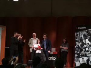 La vincitrice del premio 'Giovani Promesse'