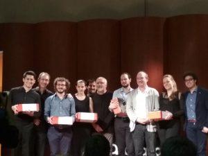 I premiati del concorso 'Omaggio a Paganini 2018'