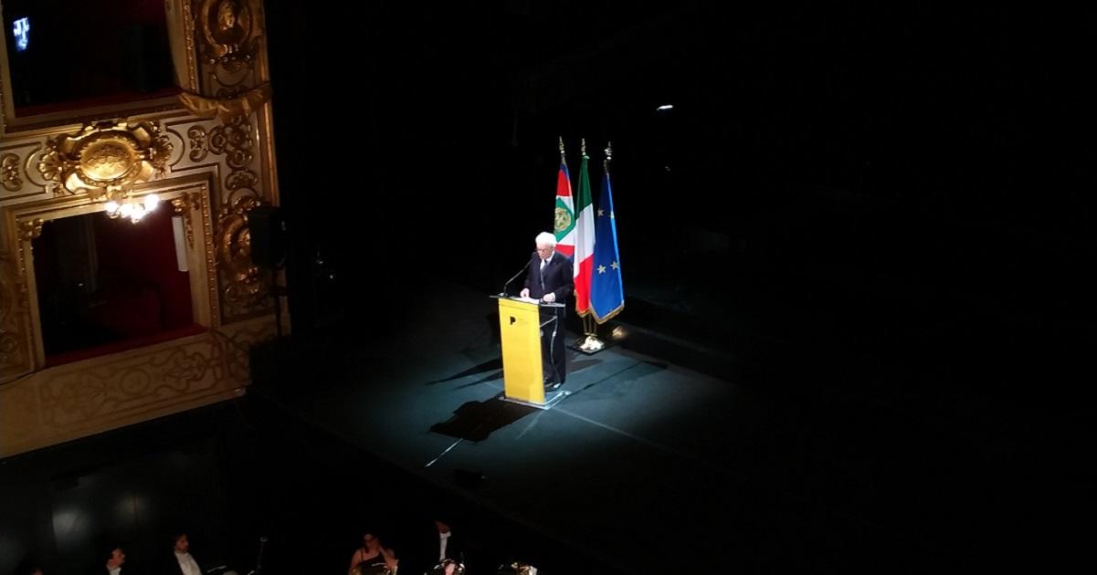Parma 2020 Teatro Regio Presidente Mattarella