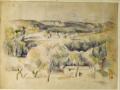 Paul.C..zanne.Paysage.Proven..al.1900.1904.matita.e.acquerello.su.carta.mm.450.x.603